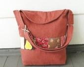 autumn messenger book bag for children