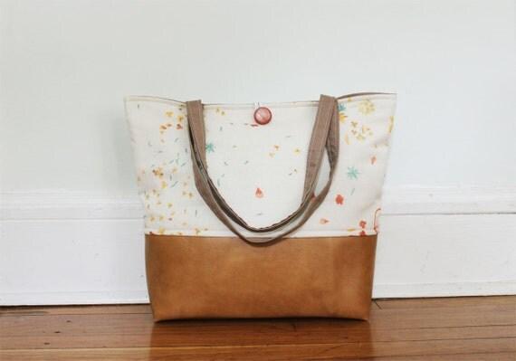 summer sun blooms market bag