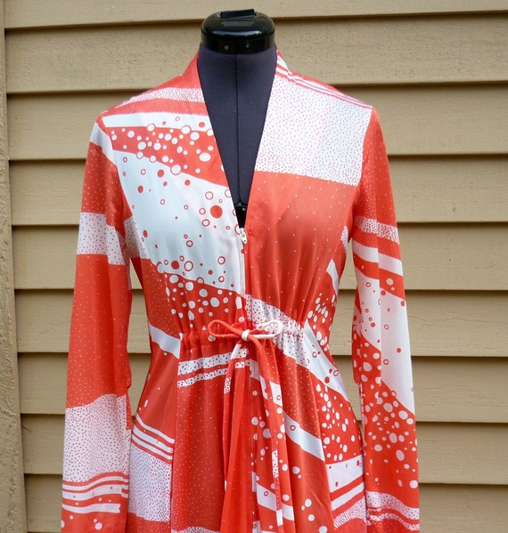 Vintage California Riviera Fashions Mod Dress or Pool Cover up