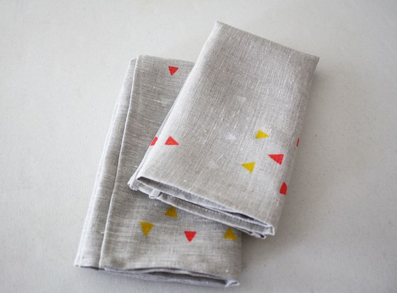 geo napkins (set of 2)