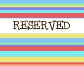 RESERVED listing for echung99