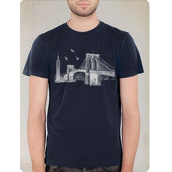 Brooklyn Bridge - Mens Short Sleeve - 8 Colors Available