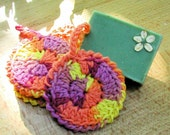 Saponificozy (tm) Face Scrubby (Two Styles) - Crochet Pattern (Personal Use License ONLY)