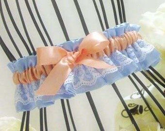 Classic Garter wth a touch of lace