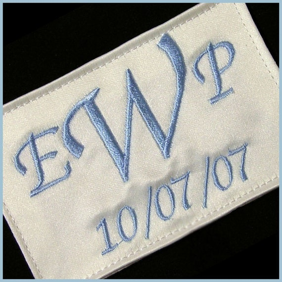 Wedding Dress Label Simple Something blue