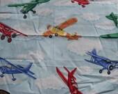 Airplanes 17 x 21 fat quarter