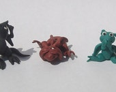 For SilverDragonRescue ONLY - Hear No Evil, See No Evil, Speak No Evil Micro Dragons