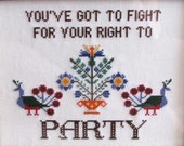 DIY KIT - Fight For Your Right To Party