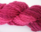 FAST PROJECT - Chunky Merino Yarn - Raspberry Bush colorway - Varigated