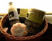 Custom - Gift basket - bath and body