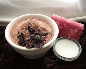 TRIAL - Rejuvenating Balinese Red Flower Facial Mask- all skin types
