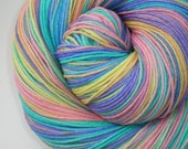hand dyed sock yarn superwash merino nylon fingering PROMISE 460 yds.