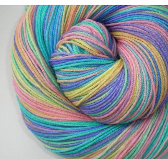 hand dyed sock yarn superwash merino nylon fingering PROMISE 460 yds.