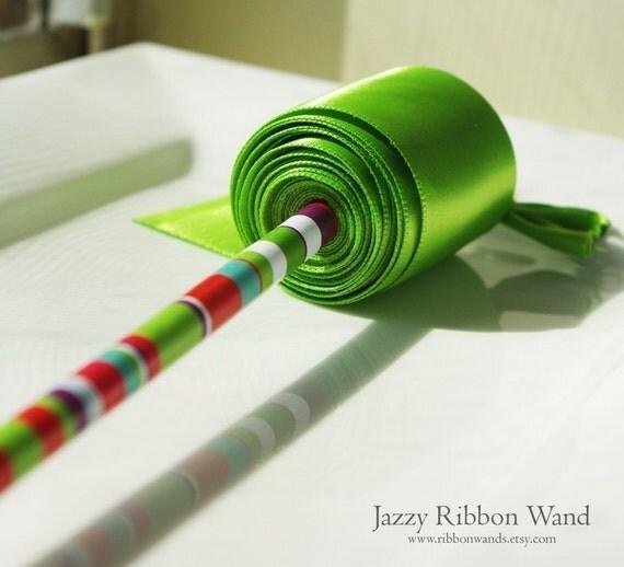 Jazzy Ribbon Wand