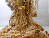 OOAK Handmade Spiral Art Yarn 50 Yards