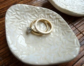 Ring Dishes with Rice Pattern (KISS - white)