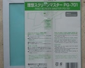 Riso Print Gocco  B6  screens for cloth (1 pack of 2)