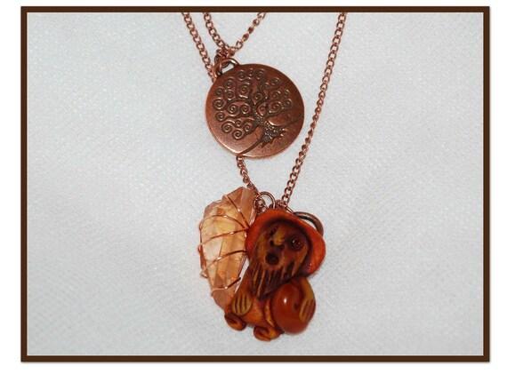 RESERVED FOR JULIE Eaolef Tree Spirit Necklace