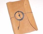 Leather Bound Mini Journal