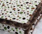 SALE Froggy Love Minky Blanket
