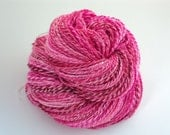 Valentine Worsted Weight Hand Spun Milk Fiber Yarn 223 Yards - sunriselodgefiberstu