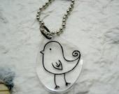 Birdie Keychain