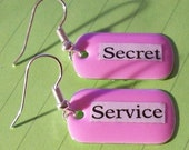 Secret Service Earrings