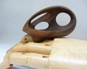 Crow - Walnut wood Ring