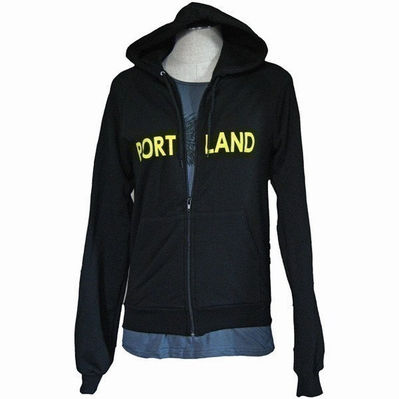 Portland Full Zip  Hoodie S L XL
