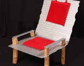 Steel Diamond Plate Chair