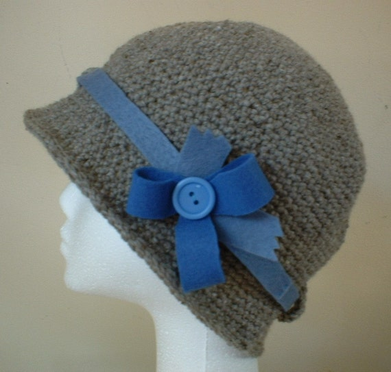 reserved for BEGORA Madam blues cloche ladies hat
