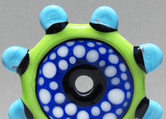SALE--Spotty Circus Wheel--Royal