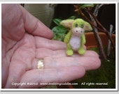 Miniature Needle Felted Dragon