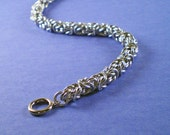 RESERVED FOR DADDYSGIRL - Byzantine Chainmaille Necklace