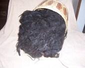 Suri Alpaca Raw fleece Black 16 ounces 50 percent OFF