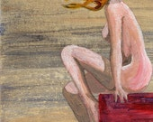 Surreal Female Nude Figure 4x6 Inches Print - Infinity