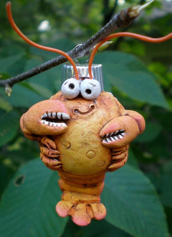 Barney Cull, Polymer Clay Lobster by darbella designs