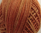 P6 Rusted Orange VALDANI 3 STRAND FLOSS Tatting, embroidery, cross stitch thread