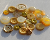 Sunshine Vintage Button Collection
