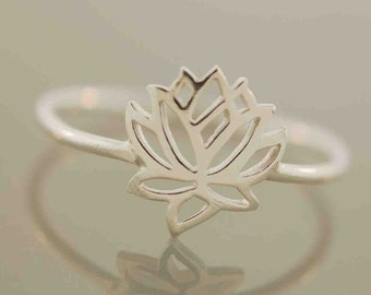 The Original Tiny Wonders Lotus Ring,