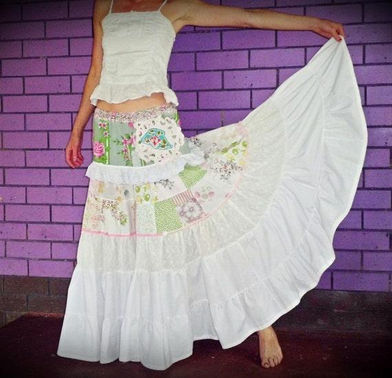 SALE  Nanna's Glory Box fairytale Maxi Skirt size S/M