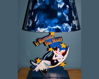 It Happened One Night LAMP and LAMPSHADE shade Clark Gable Claudette Colbert