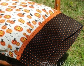 Pillowcase, Halloween Jack-o-Lanterns