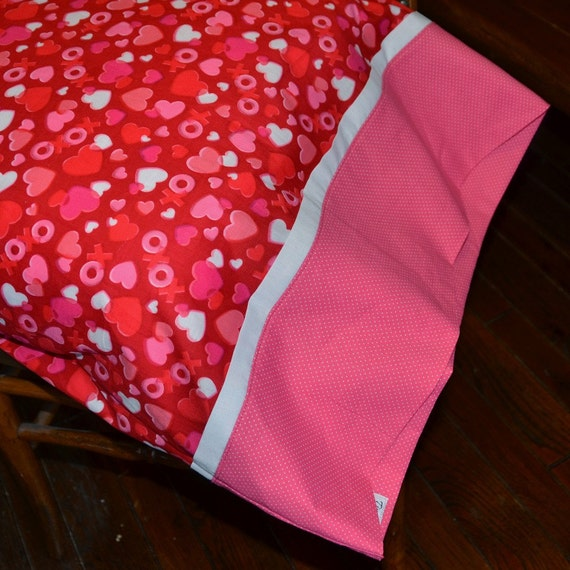 VALENTINE SWEETHEART, Standard Pillowcase, Valentine Children's bedroom bedding