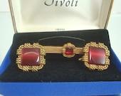 Vintage  Swank Tivoli Cuff Links and Tie Clip Unused