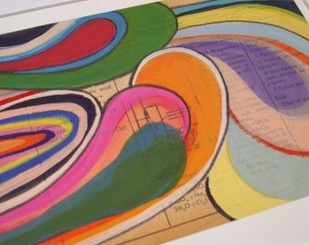 Roller Rink - Fine Art Giclee Print