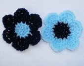 Flower Dish Scrubbies - The Blues