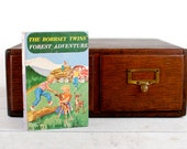 Kindle Cover-The Bobbsey Twins' Forest Adventure - made to order Kindle cover custom from recycled book-Kindle Touch, Kindle Fire