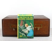 Kindle Cover-Nancy Drew and the Clue of the Leaning Chimney- device case made from recycled book - Kindle Touch, Kindle Fire