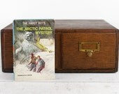 Kindle Cover -The Hardy Boys: The Arctic Patrol Mystery - made to order device case custom made from recycled book